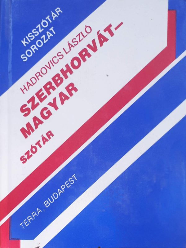 Szerbhorvát - magyar szótár